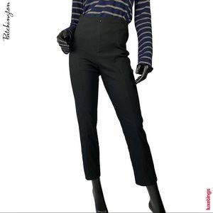 {Patchington} Black Straight Leg Pants
